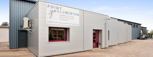 point aluminium devanture